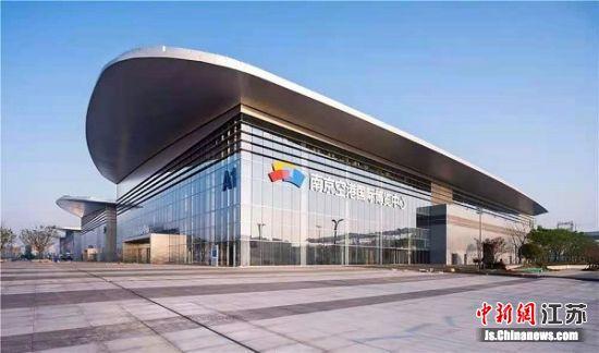 南京空港国际博览中心。李立 摄