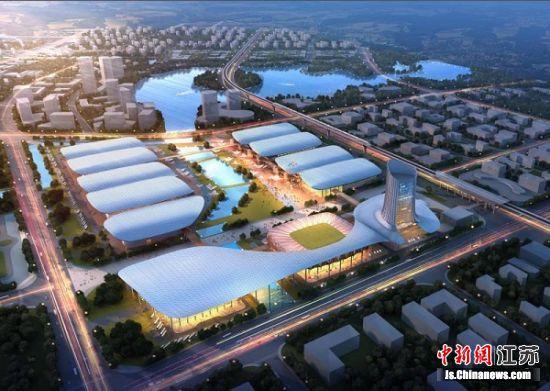 南京市溧水区空港会展小镇。 李立 摄