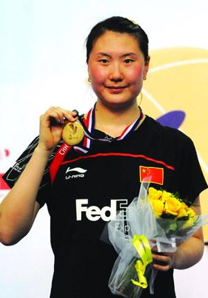 常州卢兰战胜谢杏芳 夺世锦赛女单冠军