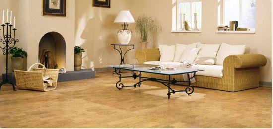 得高软木地板装修效果 温暖空间 温馨家庭