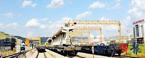 中铁十二局集团三公司中南部铁路通道铺架管理