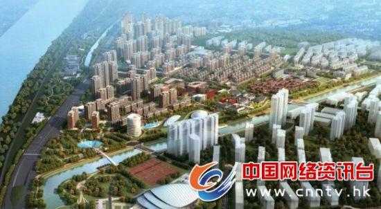 沭阳县西北片区旧城规划效果图-沭阳县举行旧城区改造征收补偿安置
