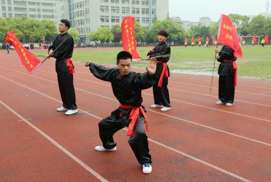 南通科技职业学院第三十三届学生田径运动会开