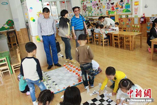盐城亭湖区实验幼儿园荣膺全国国际象棋特色