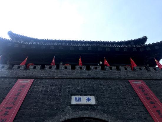 扬州古镇街道平面图