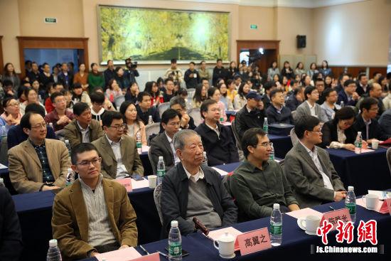 东南大学生命科学与技术学院揭牌。 中新社记者 泱波 摄