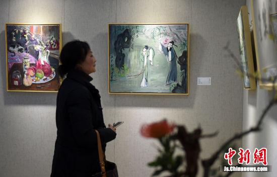 本次展览展现了高马得先生的艺术成就以及艺术教育理念。寒单 摄