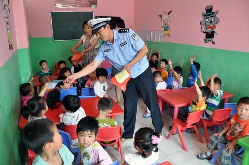 幼儿园周边道路交通安全隐患